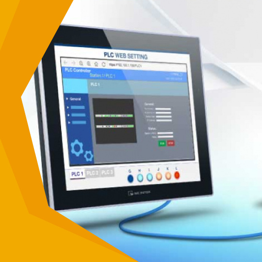 Browse webpages  with Weintek HMI-0