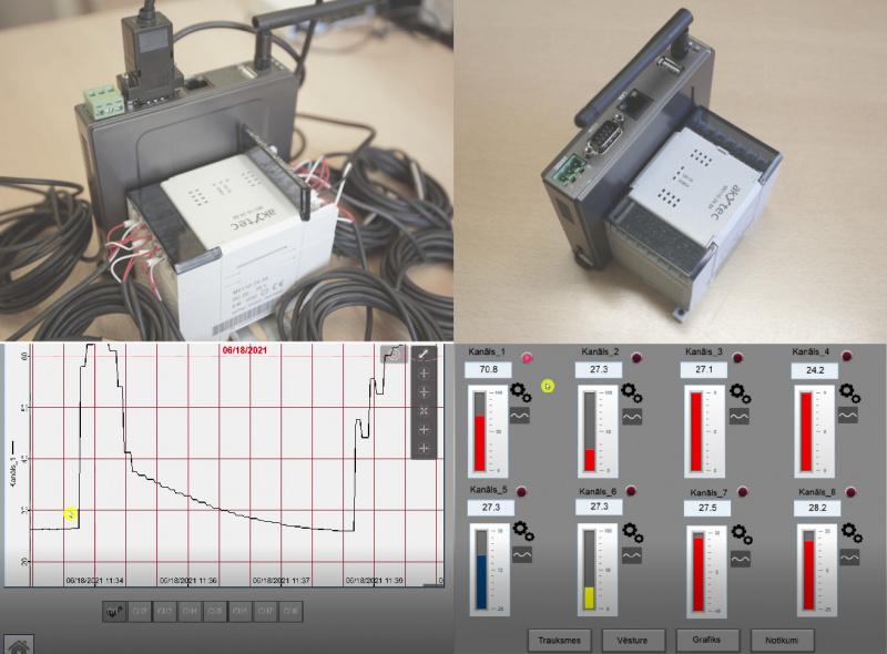 Gatavs risinājums - 8 kanālu reģistrators ar attālinātu piekļuvi-2