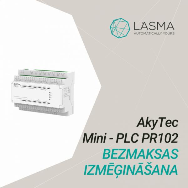 Apply to Akytec Mini-PLC PR102 free trial-0
