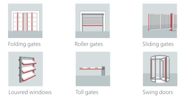 Drošība malas automātiskajām logu, vārtu un durvju sistēmām-4