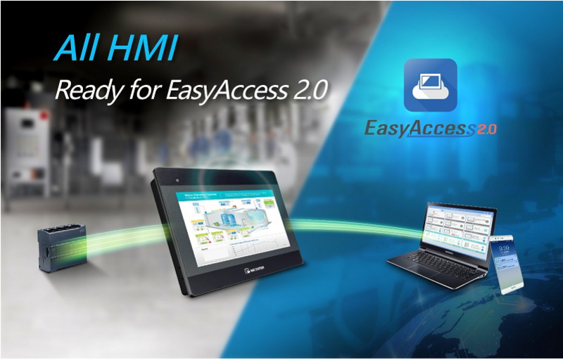Tagad EasyAcess 2.0 arī Weintek iP sērijas HMI-0