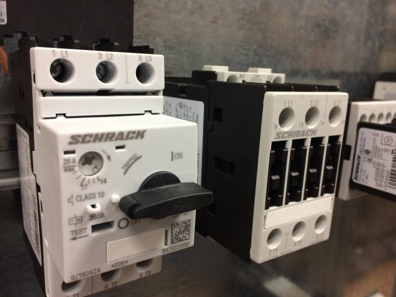 SCHRACK - motoru aizsardzības automātsledži, termoreleji un  kontaktori-1