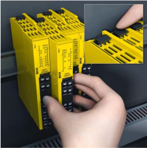 SICK ReLy sērijas drošības releji OSSD un EMSS ierīcēm-2