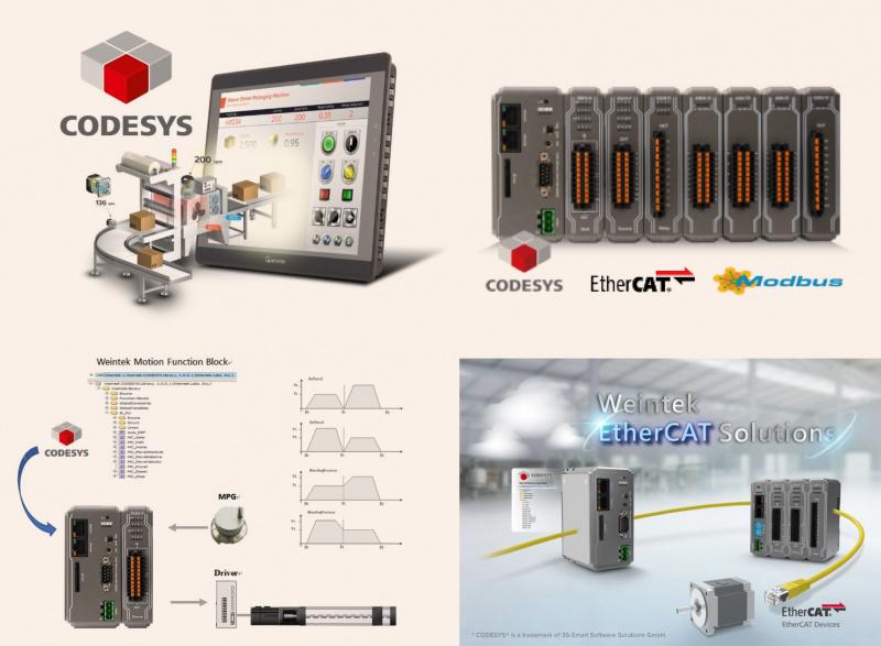 Weintek HMI un PLC  ar Codesys-0