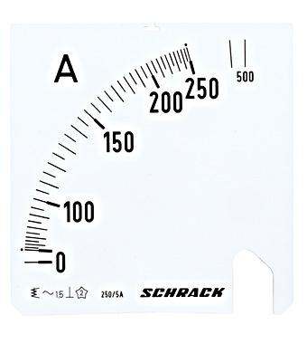 SCHRACK TECHNIK analogie ampērmetri-1