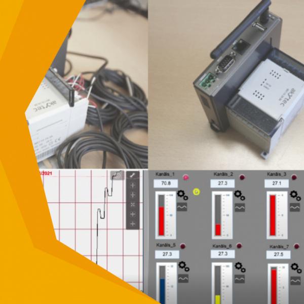 Gatavs risinājums - 8 kanālu reģistrators ar attālinātu piekļuvi-0