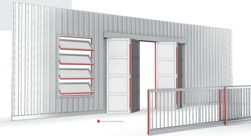 Drošība malas automātiskajām logu, vārtu un durvju sistēmām-0