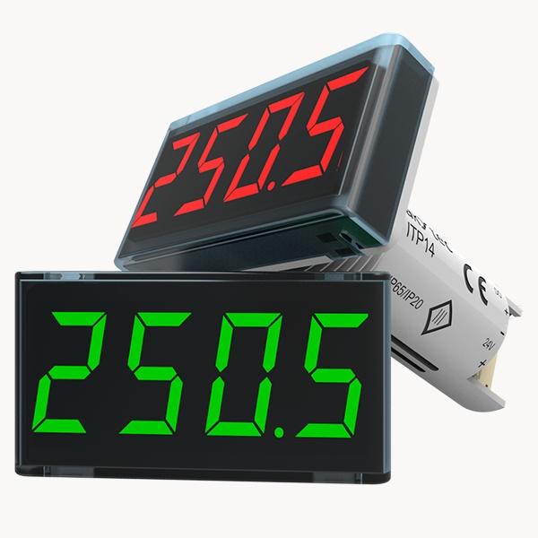 ITP14 Procesa indikators ar 0-10 V / 4-20 mA ieejas signālu un NPN tranzistoru izeju-2