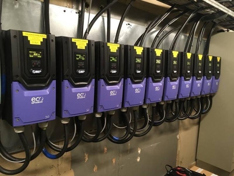 Invertek ECO drives - energoresursu efektīva pārvaldība-4