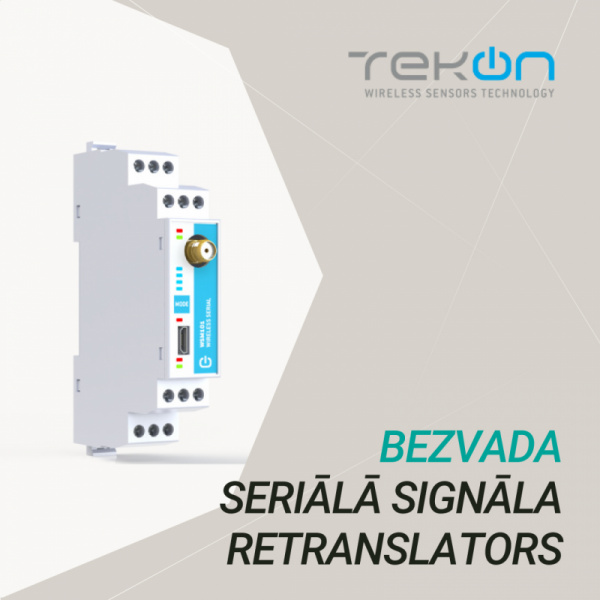 Wireless serial signal WSM101 from Tekon-0