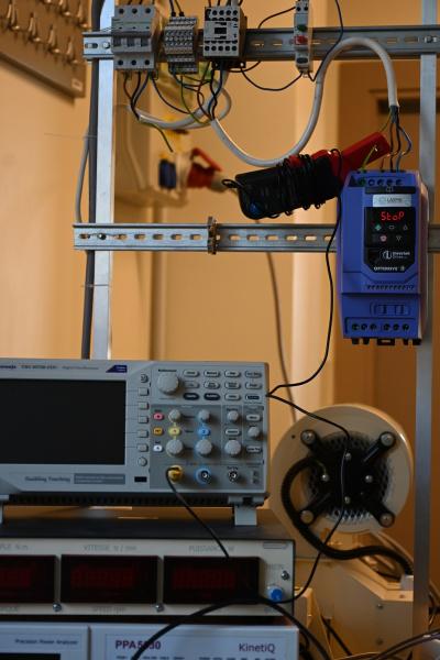 Invertek Drives frequency drive at Riga Tehnical univerisity-3