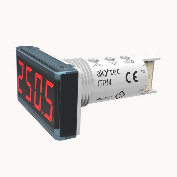 ITP14 Procesa indikators ar 0-10 V / 4-20 mA ieejas signālu un NPN tranzistoru izeju-1