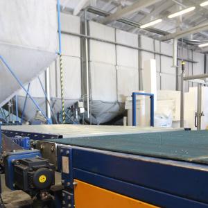 TENAPORS siltumizolācijas materiālu ražošana ar ESTUN servo piedziņu-3