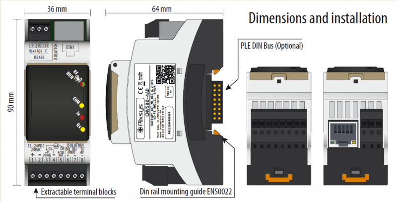 Pixsys Guard un CNV580 IIot-plug&play-1
