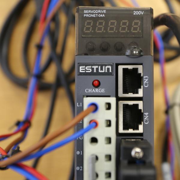 Video: ESTUN servo piedziņa pozīcijas kontroles režīmā (3.daļa)-0