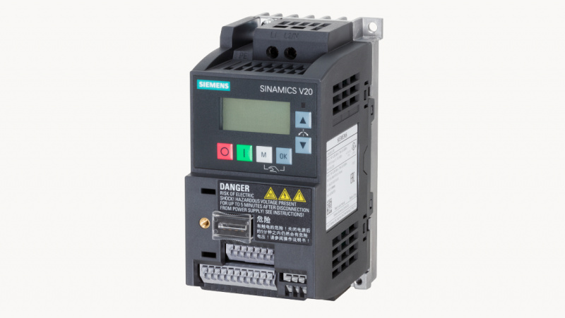 Extended product range with SIEMENS SYNAMICS V20 series variable frequency drives-0