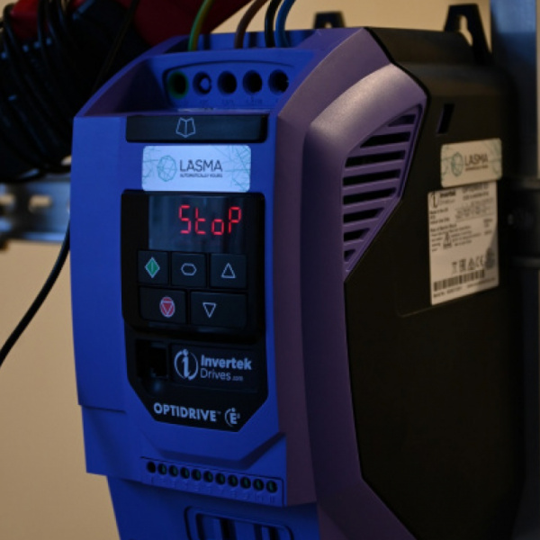 Invertek Drives frequency drive at Riga Tehnical univerisity-0