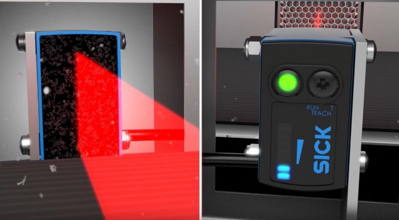 SICK Reflex Array sensori ar 2D gaismas joslu – daudzveidīgu objektu noteikšanai.-7