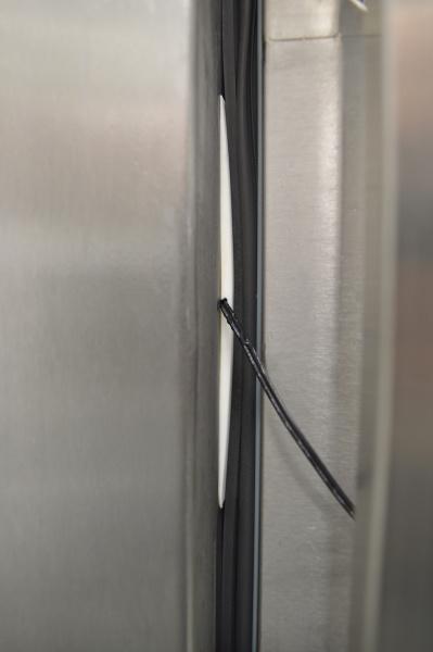 Ledusskapju un saldētavu temperatūras sensoru uzstādīšanas aprīkojums-3