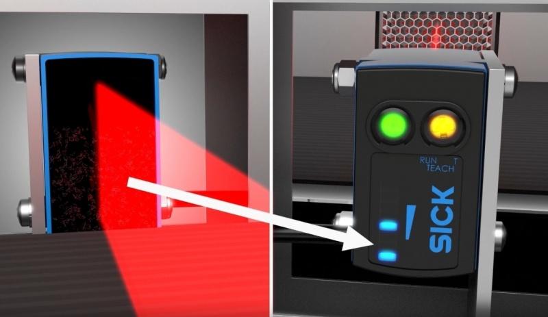 SICK Reflex Array sensori ar 2D gaismas joslu – daudzveidīgu objektu noteikšanai.-8