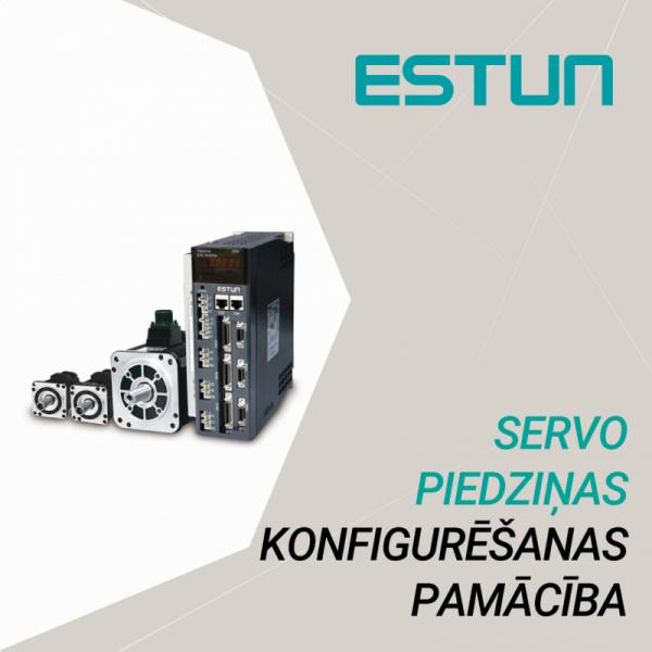 ESTUN servo piedziņas pamatfunkciju konfigurēšana-0