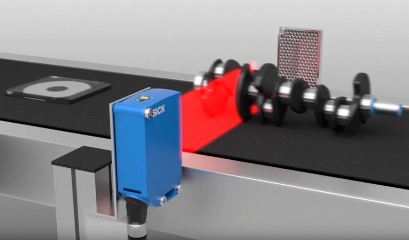 SICK Reflex Array sensori ar 2D gaismas joslu – daudzveidīgu objektu noteikšanai.-9