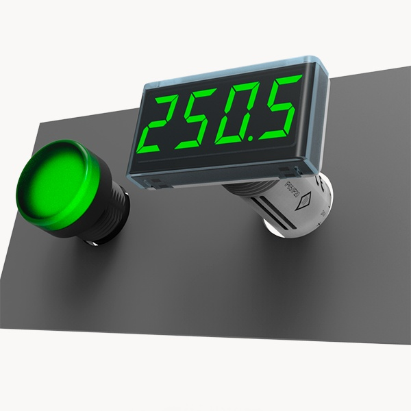 ITP14 Procesa indikators ar 0-10 V / 4-20 mA ieejas signālu un NPN tranzistoru izeju-0