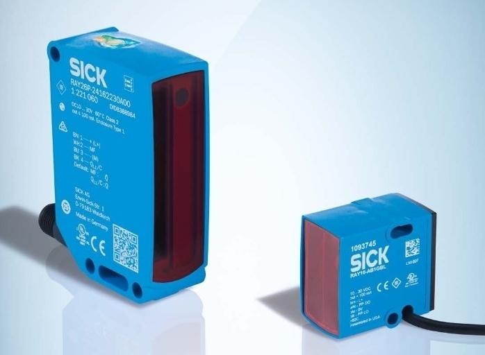 SICK Reflex Array sensori ar 2D gaismas joslu – daudzveidīgu objektu noteikšanai.-1