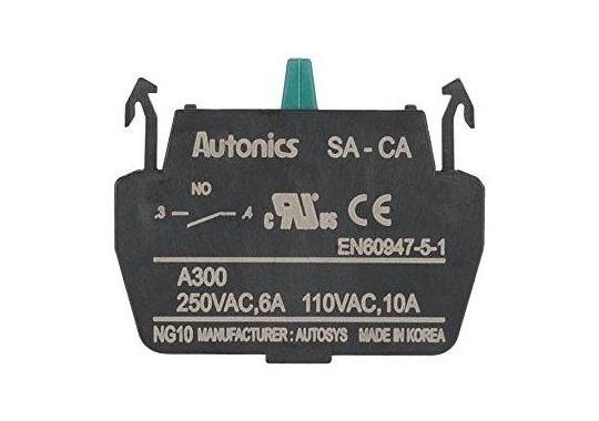 Switches, indicators, potentiometers