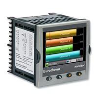 Nanodac recorder; 90-264Vac; 2 Control loops; Relay/IsoDC/IsoDC; Silver washdown front
