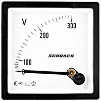 Voltmeter, 72x72mm, 300V AC