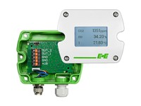 SIGMA05-HS1D2GA6U1 E+E Modular Sensor Enclosure: Polycarbonate Display: Display with backlight Output signal: 4 - 20 mA Units: Metric (SI)