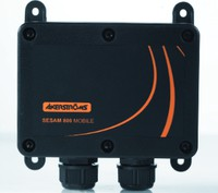 949278-000 SESAM 800 Configurable- RECEIVER 10-24V DC, 6 SSR 3A incl external antenna for extra long range