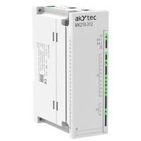 I/O Module Modbus TCP/Ethernet, 12DI: switch contacts (24 V DC external power supply), NPN/PNP sensors 4 DO: relays (NO), 5 A at 250 VAC, cos > 0.4 or 3 A at 30 VDC