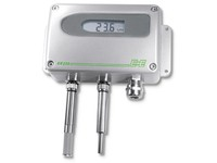 EE220 Humidity and Temperature Transmitter with Interchangeable Probes. Range -40 °C up to 80 °C, ACCURACY ±2% RH / ±0.1 °C (±0.36 °F), OUTPUT 0-1/10 V or 4-20 mA, 24 V ac/dc