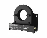 T201DCH600-MU AC/DC C.T. (± 600 A), TRMS, 0..10V, PNP alarm, Modbus, USB + DIN rail plastic clips