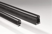 Sensor profile SP 57-3/BK 2300 mm, Contact profile SP 57-3 Alu profile C35 End caps with Cable exit version axial middle Cable length 1/2 2500 mm / 2500 mm