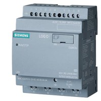 SIEMENS LOGO! 230RCEo, logic module, PS/I/O: 115 V/230 V/relay, 8 DI/4 DQ, without display,