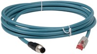 Cable, Ethernet, CAB-ETH-M03 M12-IP67 to RJ45, 3m , MOQ 1