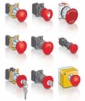 Safety stop buttons